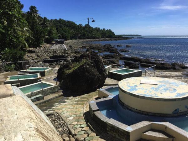 フィリピンパナイ島【シラアン温泉】海にも入れる温泉!