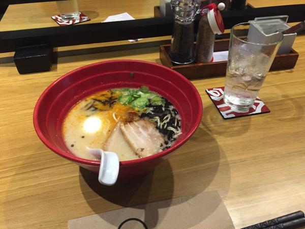 マニラで日本食を食べてプチ贅沢