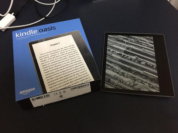 完全防水で超快適!Kindle Oasis(2017年版)を買ってみた感想